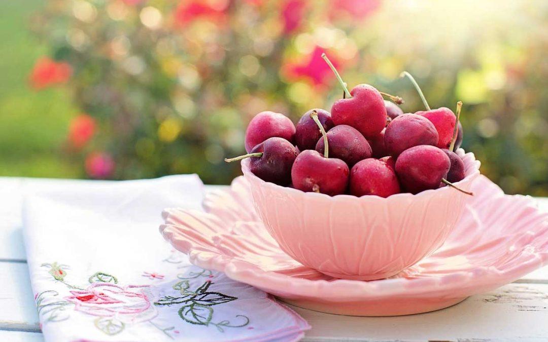 A comer cerezas!
