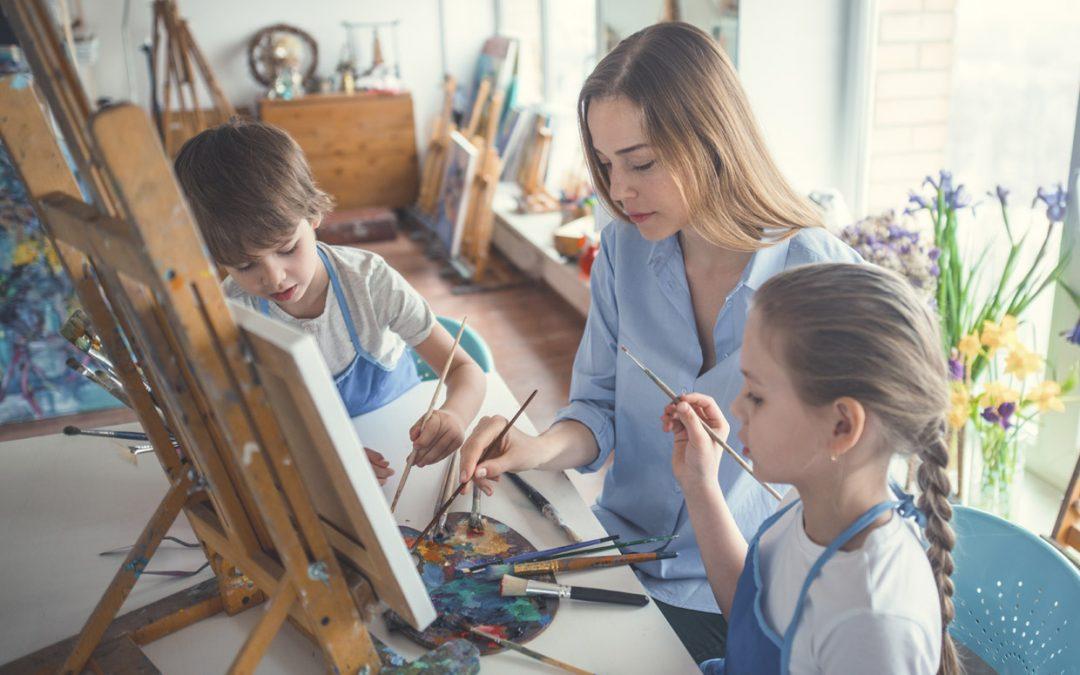 El arte, una excelente herramienta terapéutica